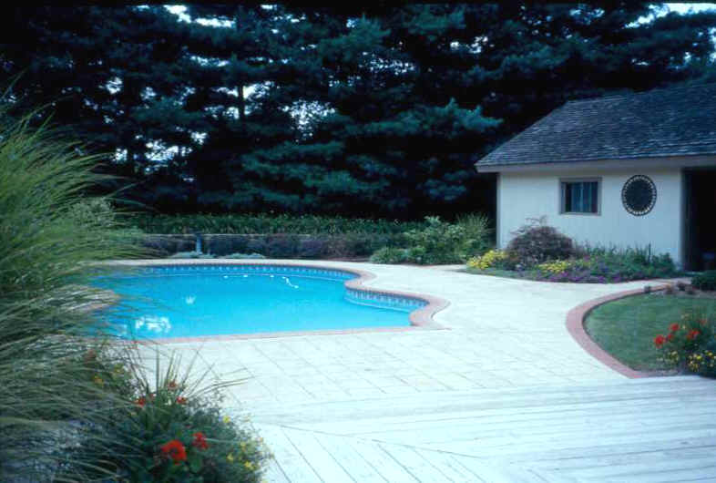 Residential las llc delaware landscape architecture for Pool design concepts llc
